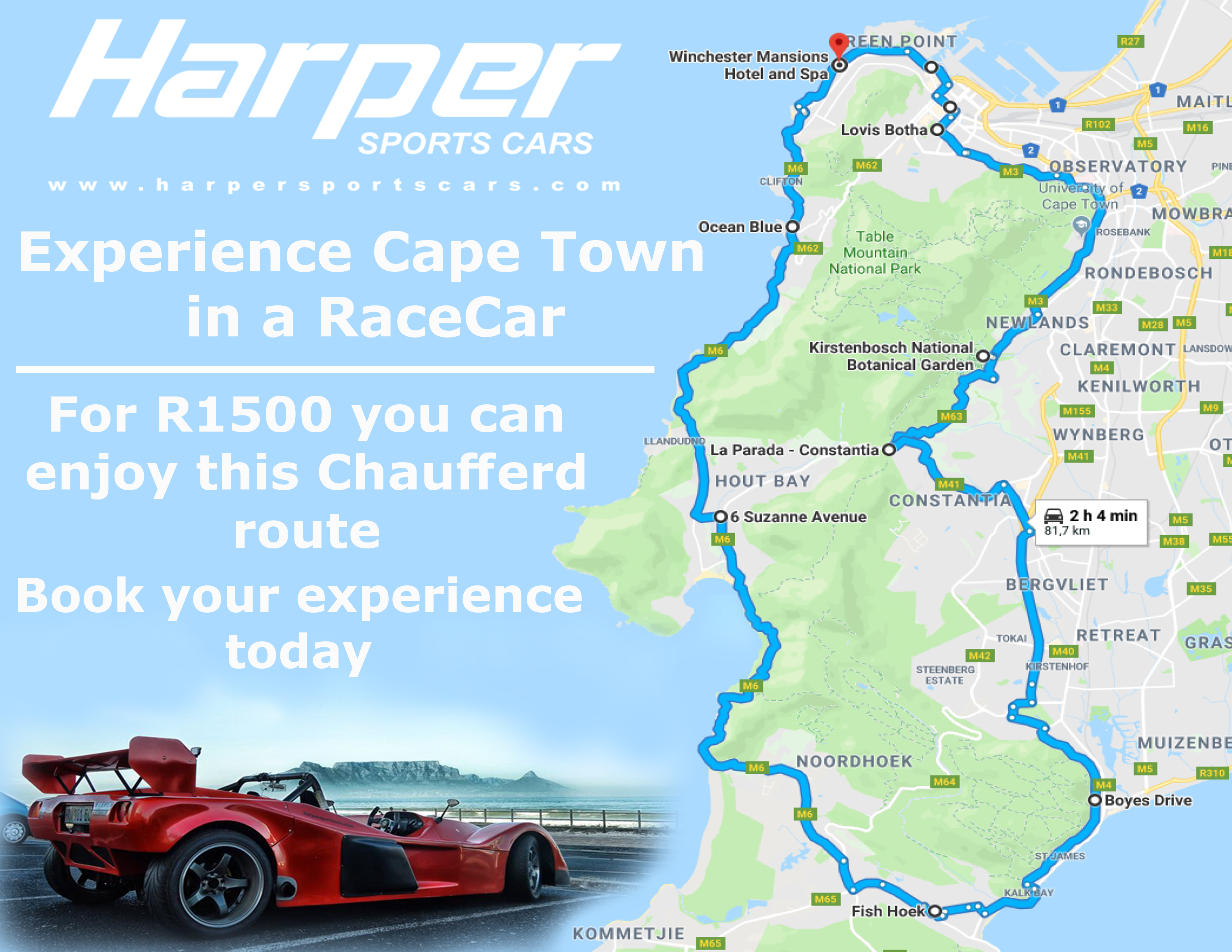 Tours & Track | Harper Sports Cars Driver Training, Tours